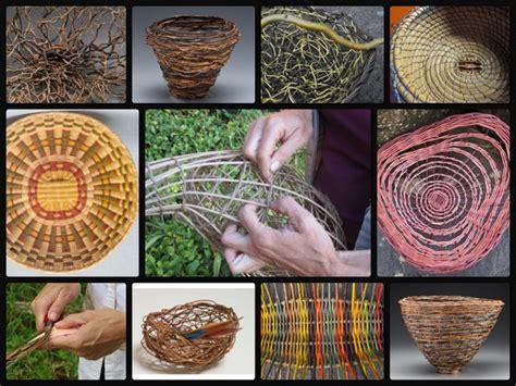 basket weaving techniques materials  sculptural