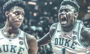 Zion Williamson Could Lead Duke Trio To NBA History