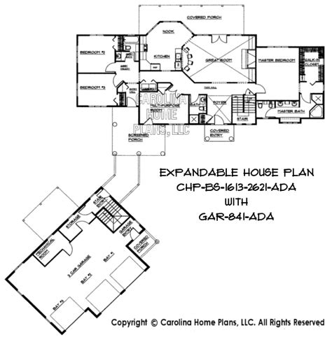 building a house floor plans build in stages 2 story house plan bs 1613 2621 ad sq ft 2 story expandable house plan 1613 to