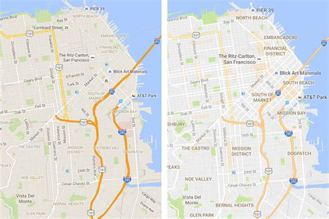Google Maps update brings cleaner look and new areas of ...