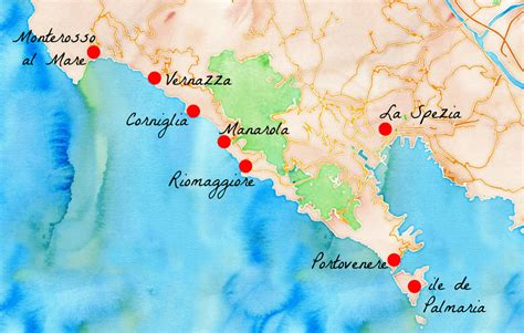 un beau week end italien aux cinque terre carigami
