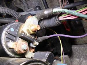 1998 Saturn Sl1 Solenoid Bypass  I Bypassed The Starter