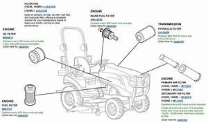 John Deere 1025r Parts Manual
