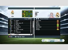 FIFA 14 REAL MADRID PLAYER STATS YouTube