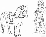 Cowboy Horse Coloring Printable Boots Boot Cool2bkids Getcolorings Colorings sketch template