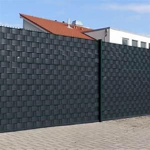 Sichtschutz Terrasse Kunststoff : sichtschutzstreifen hart pvc woodline anthrazit sichtschutz ~ Whattoseeinmadrid.com Haus und Dekorationen