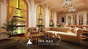 3ds Max Classic Interior Tutorial Modeling Vray Design