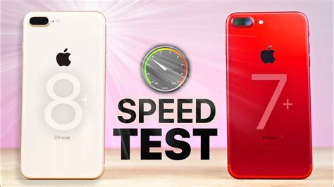 speed test iphone iphone 8 plus vs 7 plus speed test