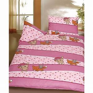 Biber Bettwäsche Rosa : kinderbettw sche b rchen fuchs maus rosa biber 100 x 135 cm mytoys ~ Buech-reservation.com Haus und Dekorationen