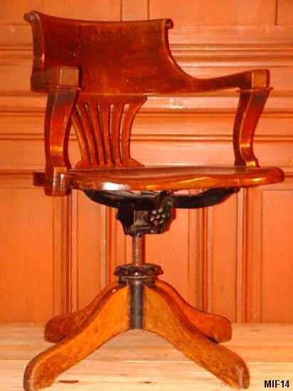 fauteuil de bureau americain fauteuil américain vers 1920