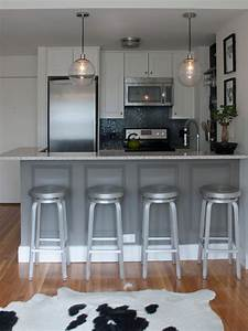 Crate & Barrel Spin Stool - Contemporary - kitchen ...