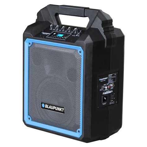 blaupunkt at 20 portable speaker wireless blaupunkt 500w 650w 1900w karaoke battery bluetooth ebay