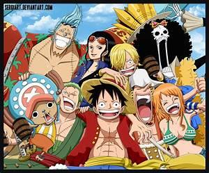One Piece - Straw Hat Pirates by SergiART on DeviantArt