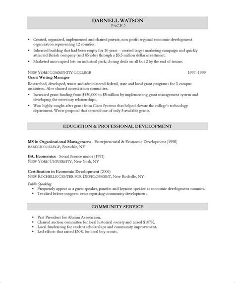 Value Proposition Resume by Free Resume Sles Blue Sky Resumes