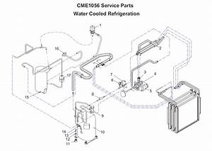 Scotsman Cme1056 Ice Machine Parts Diagram