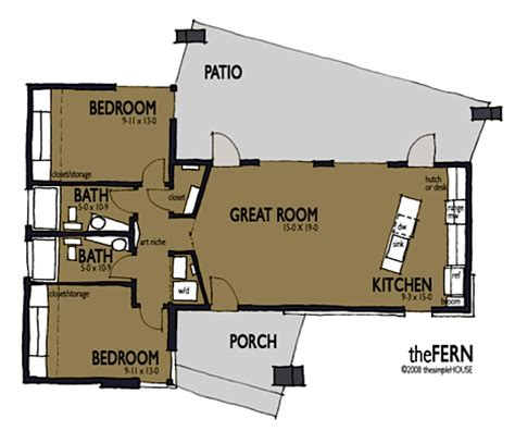 small green home plans jetson green the simple house offers modern affordable