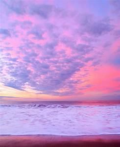 ocean, pink, purple, scenary, sea - image #308395 on Favim.com