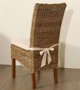 photo chaise de cuisine en osier With deco cuisine avec chaise osier