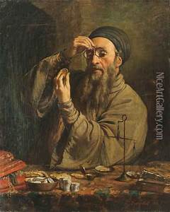 The Jewish Money Lender oil painting reproduction by ...