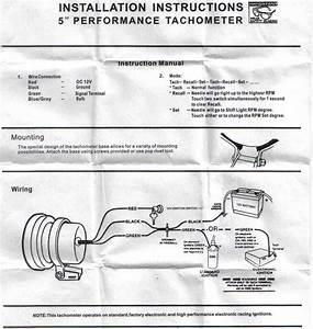 Help Wiring A Monster Tacho