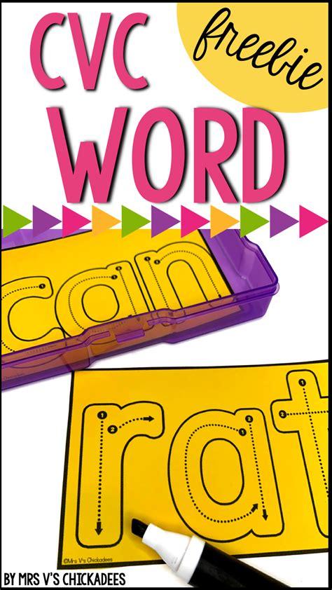 teaching cvc words   kindergarten   grade