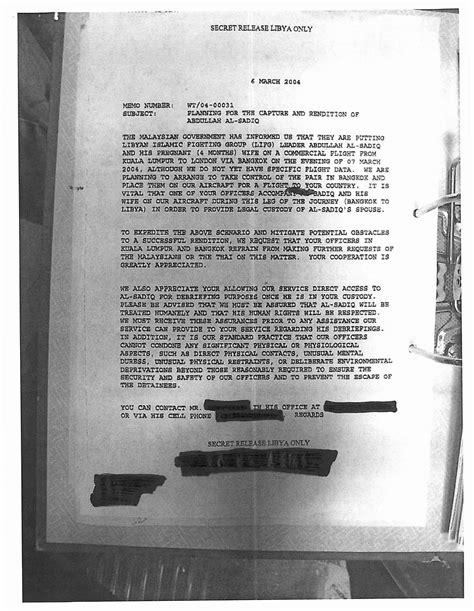 Libyan Intelligence Service CIA-MI6 Extraordinary