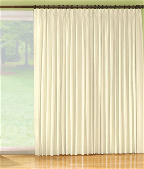 blackout pinch pleat slider panel country curtains 174
