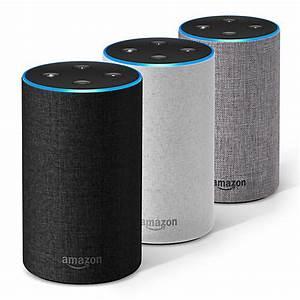 Buy Amazon Echo Smart Speaker with Alexa Voice Recognition ...
