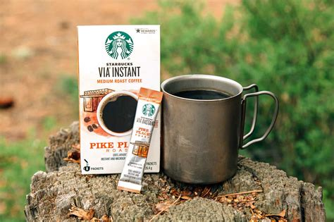 Starbucks via™ pike place® roast 350 baht the story of pike place® roast from our first store in seattle's pike place market to our coffeehouses around the world, customers requested a freshly brewed coffee they could enjoy throughout the day. Review: 10 Instant Coffees for Backpacking | Fresh Off The Grid