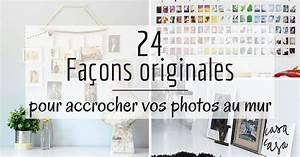Accrocher Au Mur Sans Percer : accrocher photos cadres posters ou de l 39 art vos murs ~ Premium-room.com Idées de Décoration