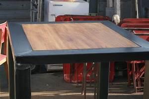 Table Mange Debout Style Industriel : fabrication table mange debout design industriel maison mange debout table mange debout et ~ Melissatoandfro.com Idées de Décoration