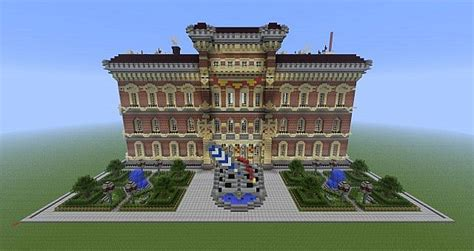library  townhall minecraft project