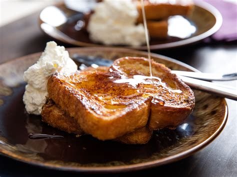 special occasion breakfast challah french toast  orange  rum  eats
