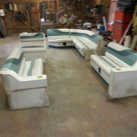 Pontoon Boat Seats For Sale Used by Find More Whole Set Used 24ft Pontoon Seats For Sale At Up