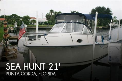 Sea Hunt Victory Boats For Sale by Sea Hunt Victory 215 For Sale In Punta Gorda Fl For