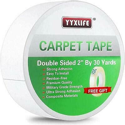 yyxlife rug tape double sided carpet heavy duty tape