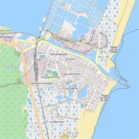 la cuisine d alain plan port la nouvelle carte ville port la nouvelle