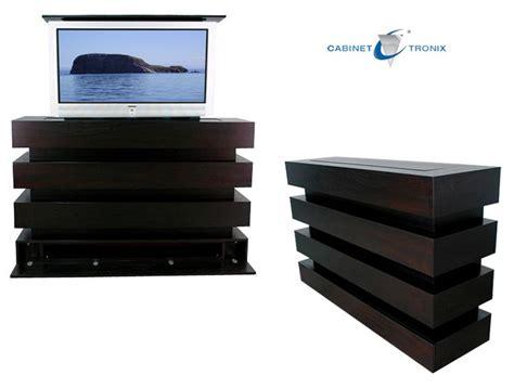 tv cabinet hidden tv lift hidden tv stands bachelor pad pinterest master