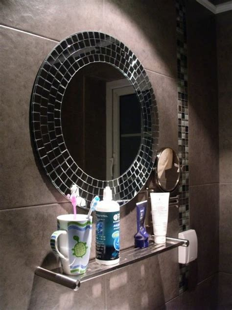bathroom mosaic mirror decorative bathroom mirrors dream bathrooms ideas