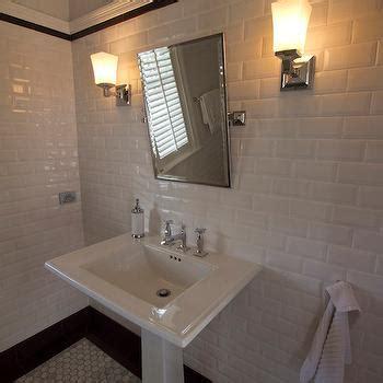 bathroom chair rail design ideas