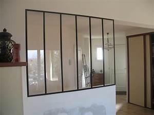Fenetre Interieure Dans Cloison : cloison vitr e l 39 atelier des charmettes ~ Melissatoandfro.com Idées de Décoration
