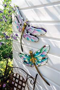 Deko Aus Glas : deko libelle aus metall und glas palmenmarkt ~ Watch28wear.com Haus und Dekorationen