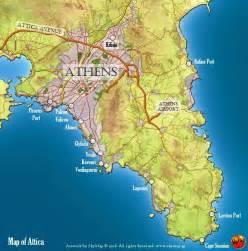 Acropolis Athens Greece Map