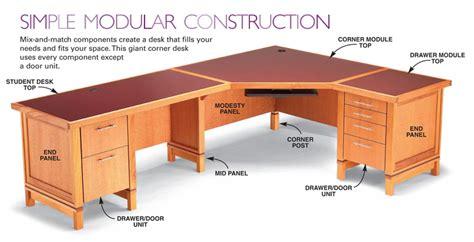 aw extra  modular desk system popular woodworking magazine