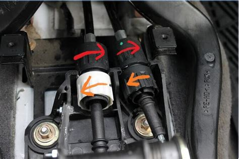 replace adjust shift cable  ford mtx diy