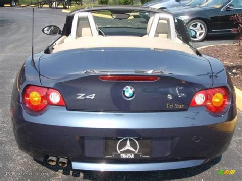2003 Toledo Blue Metallic Bmw Z4 2.5i Roadster #15579837