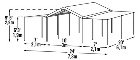 shelterlogic    max ap  leg canopy shelter  extension kit