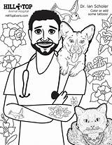 Coloring Hill Dr Hospital Animal Sheet Scholer Pdf sketch template