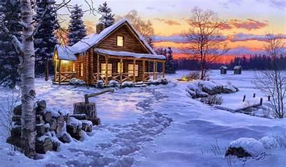 Cabin Log 3d Wallpapers Wallpapersafari