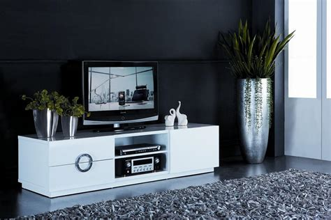 White Tv Stand Cm
